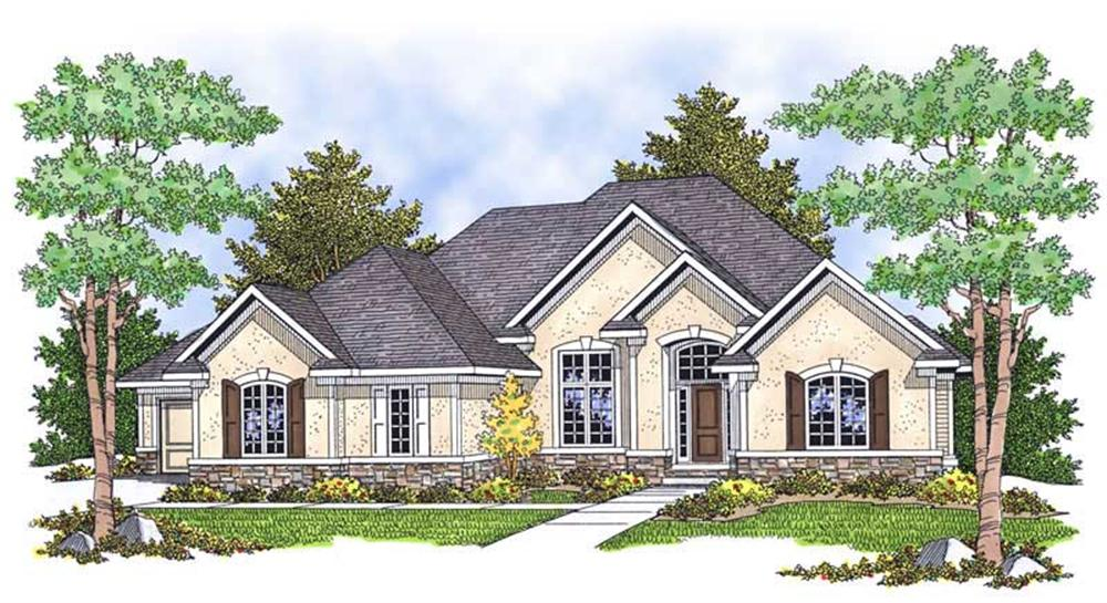 Main image for house plan # 13901