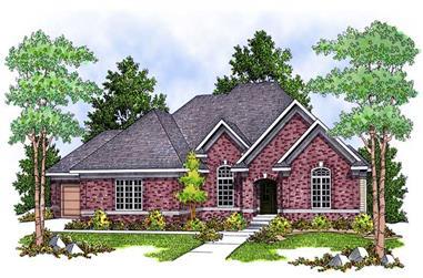 2-Bedroom, 2297 Sq Ft Ranch Home Plan - 101-1557 - Main Exterior