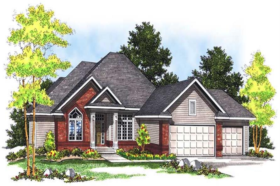 Main image for house plan # 13641