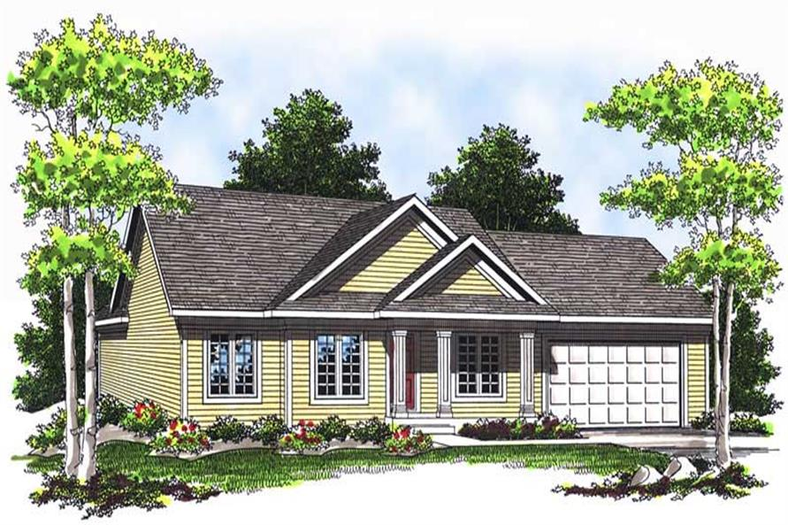 Main image for house plan # 13730