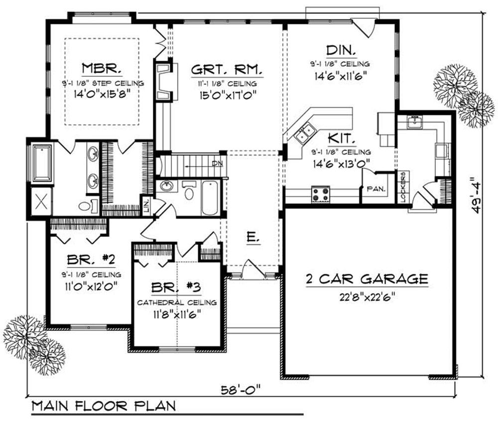 Large images for house plan 101 1566 for Home design 101