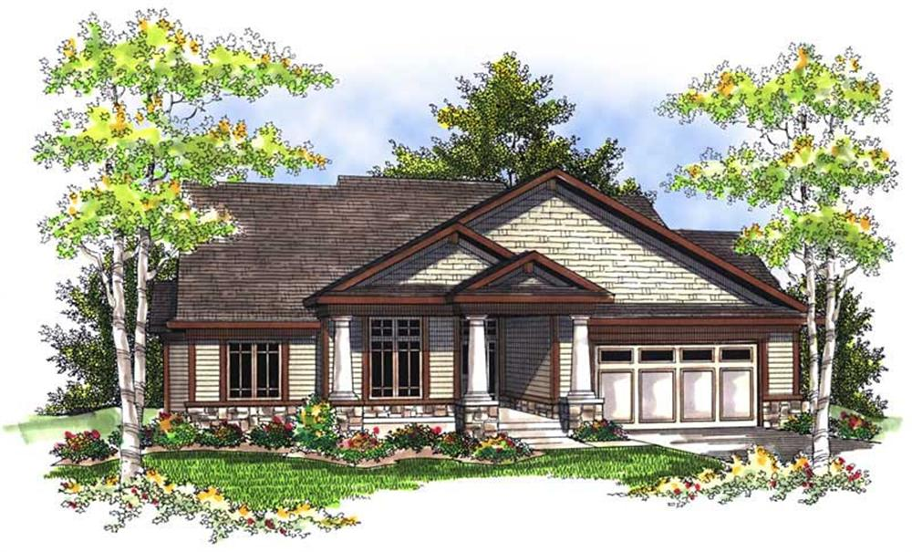 Main image for house plan # 13971