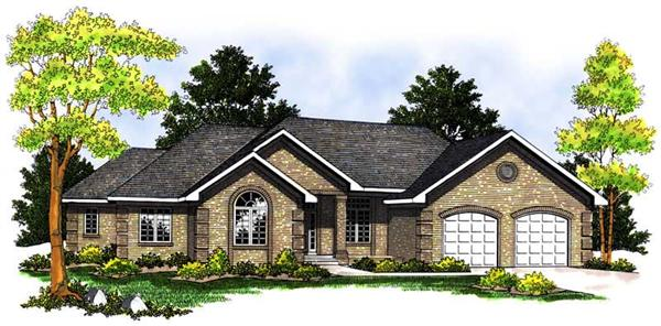 Main image for house plan # 13656