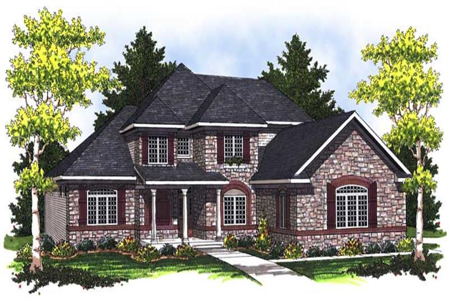 Main image for house plan # 14052