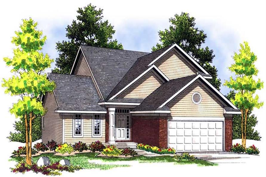 Main image for house plan # 13633