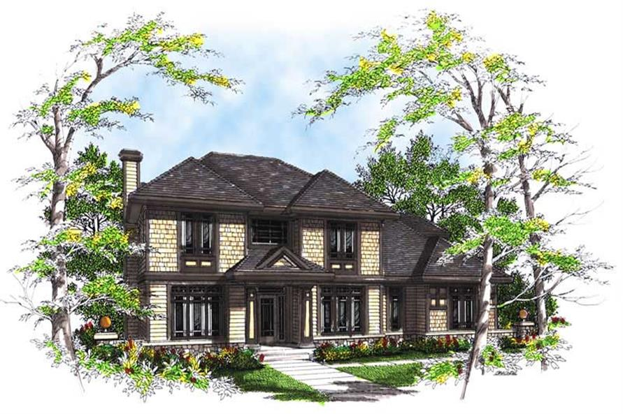 Main image for house plan # 13472