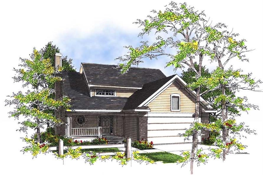 Main image for house plan # 13457