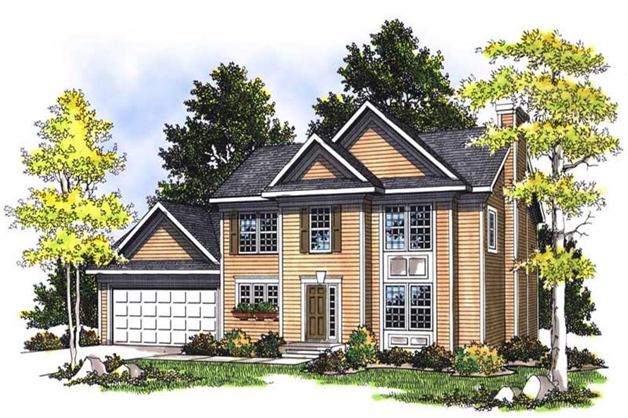 Main image for house plan # 13540