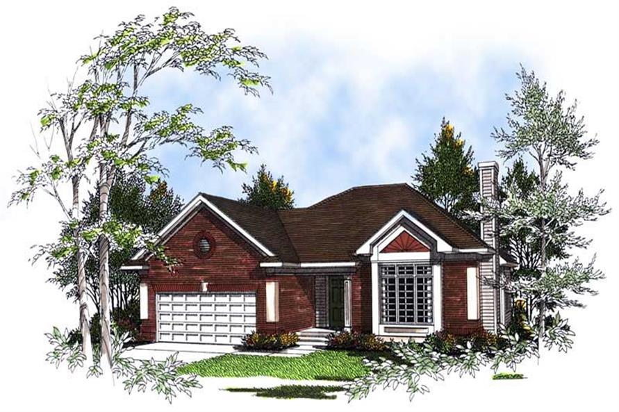 Main image for house plan # 13364