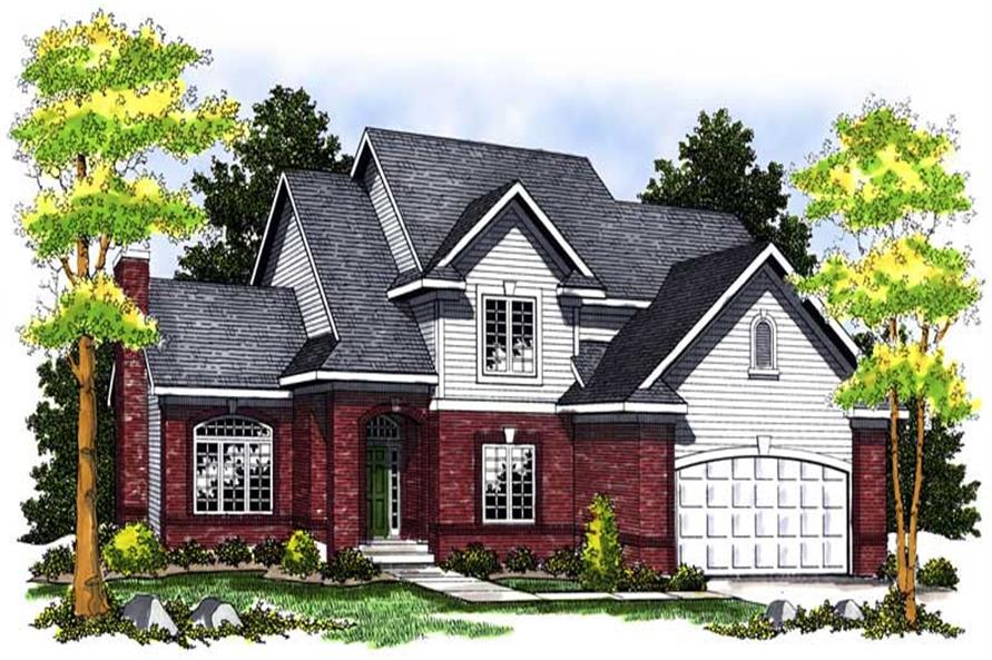 Main image for house plan # 13632