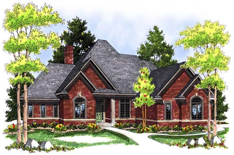 Main image for house plan # 13628