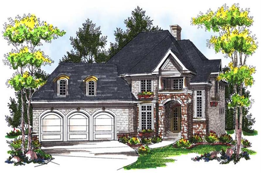 Main image for house plan # 14026