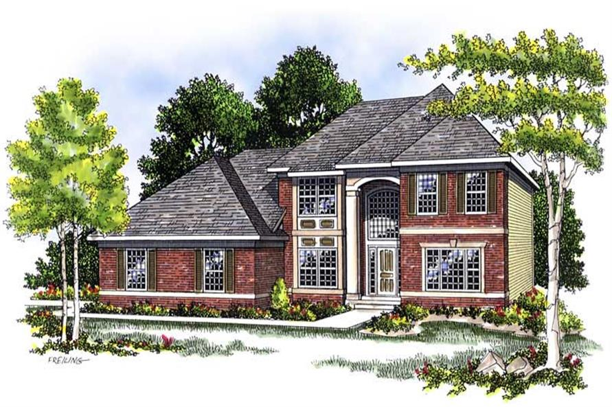 Main image for house plan # 13575