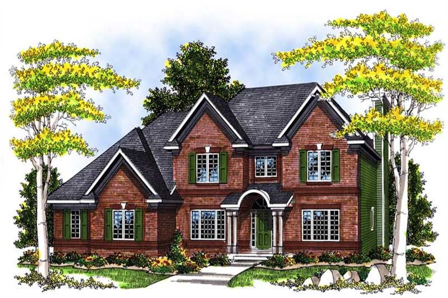 Main image for house plan # 13564