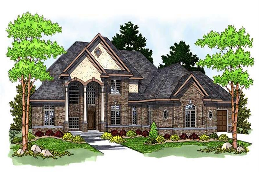 INTERIOR PHOTO of this 4-Bedroom,4299 Sq Ft Plan -4299