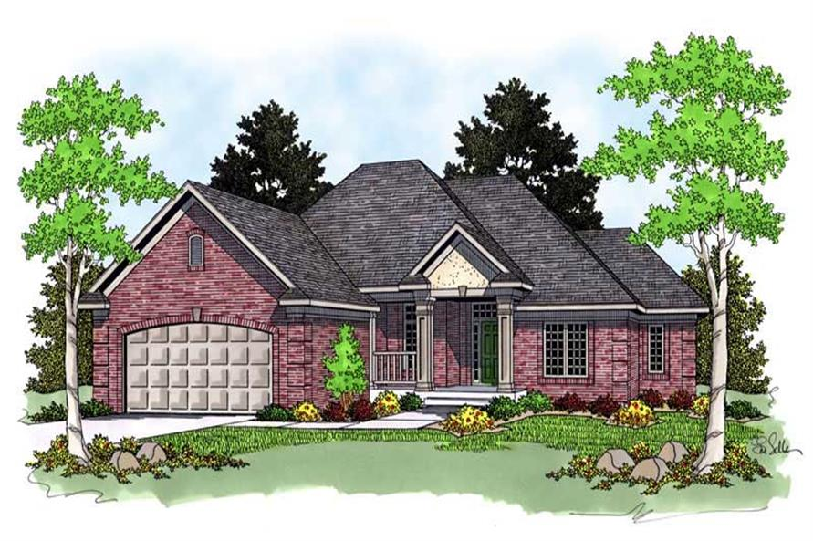 Main image for house plan # 13758
