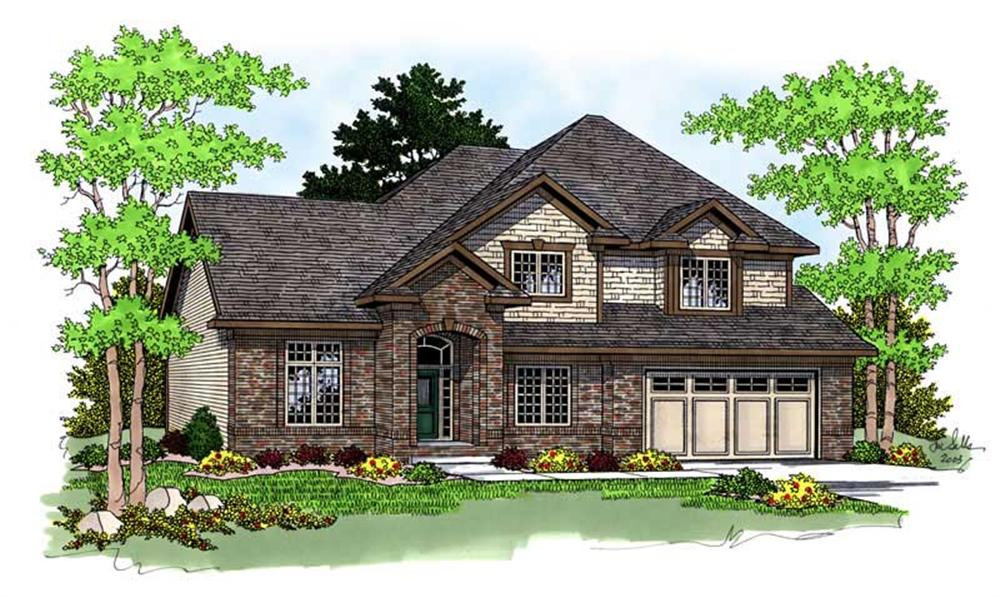 Main image for house plan # 13775
