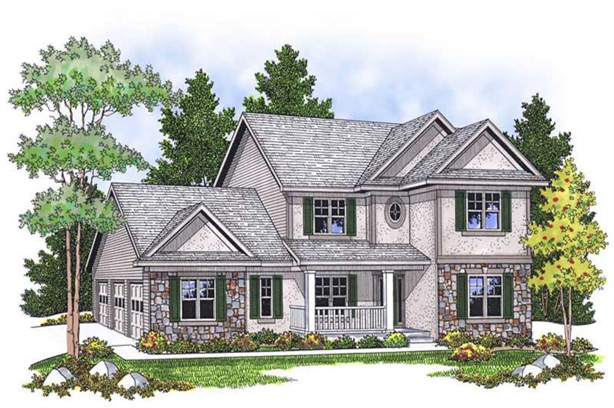 Main image for house plan # 13814