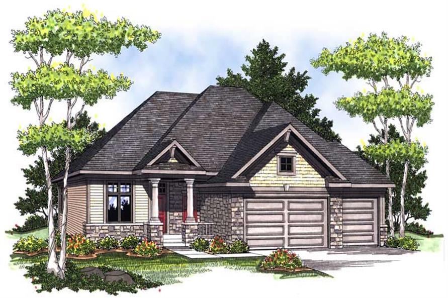 Main image for house plan # 14030