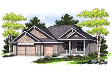 Main image for house plan # 14033