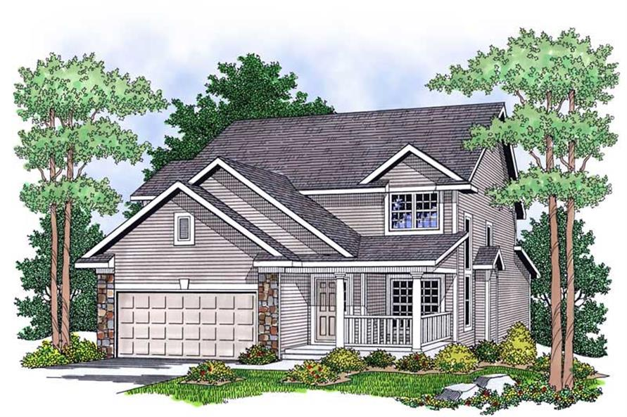 Main image for house plan # 13805