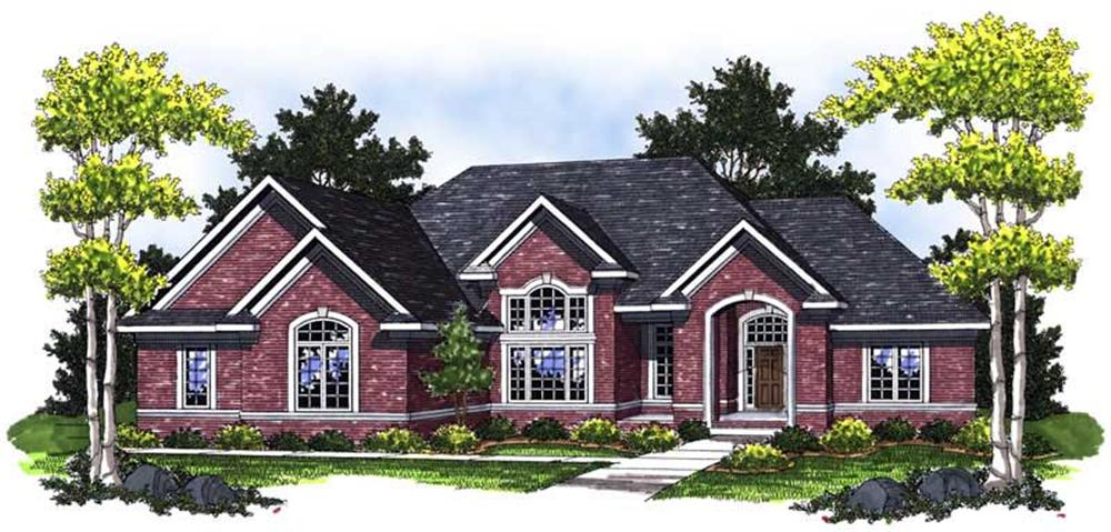 Main image for house plan # 14045