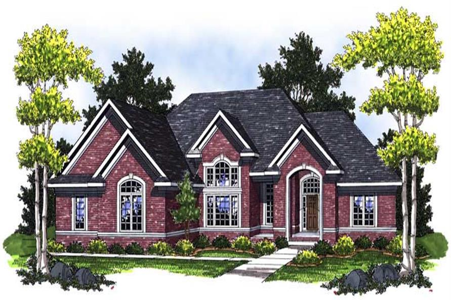 3-Bedroom, 2306 Sq Ft Craftsman Home Plan - 101-1664 - Main Exterior