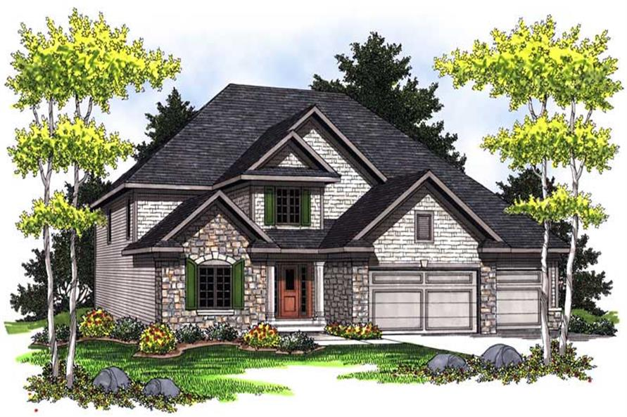Main image for house plan # 14048