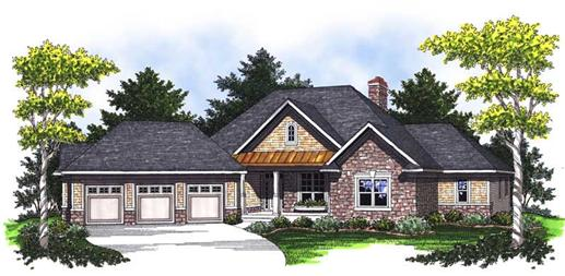 Main image for house plan # 14050