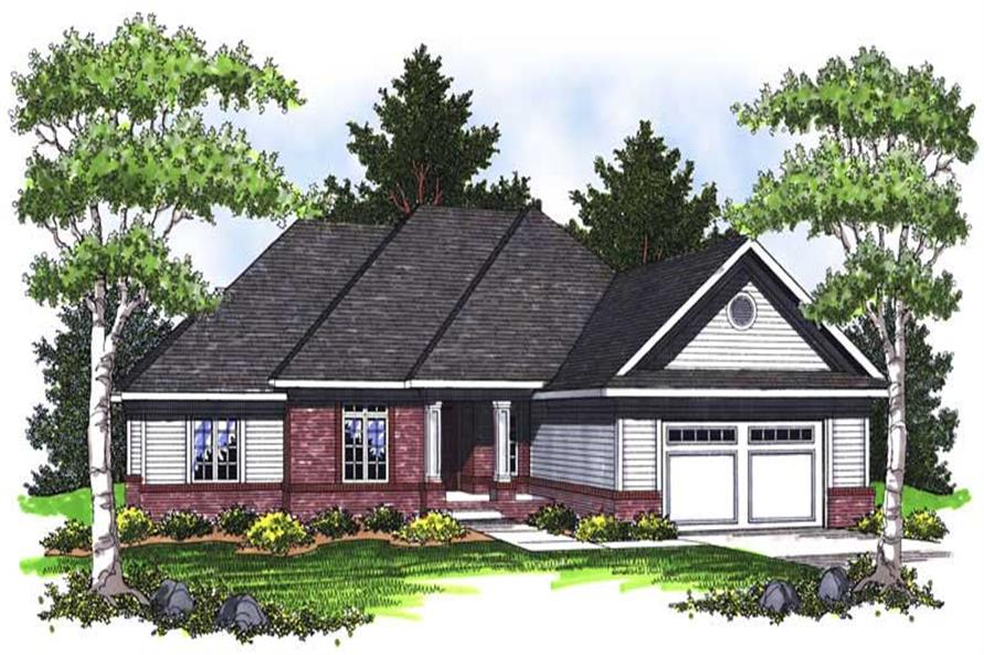 Main image for house plan # 14039