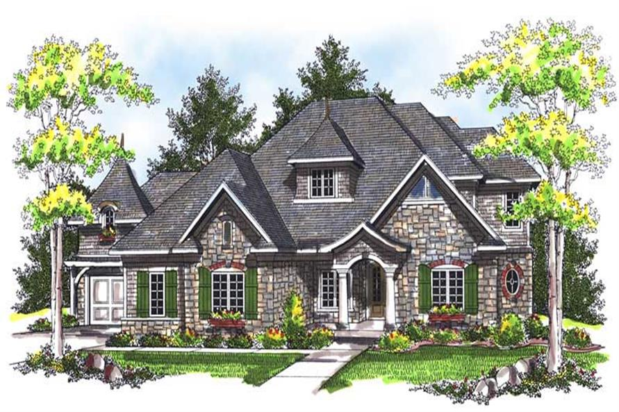 Main image for house plan # 14009