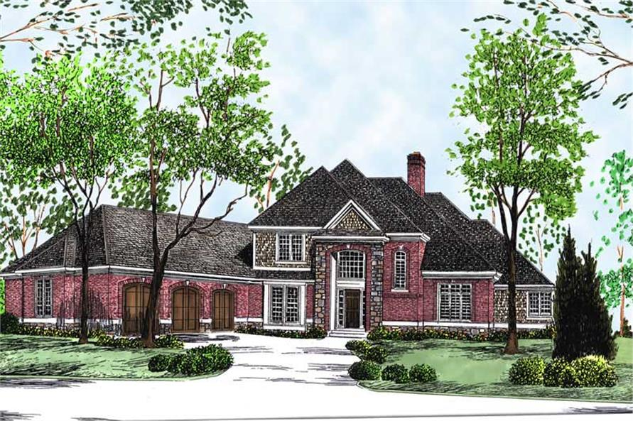 Main image for house plan # 13701