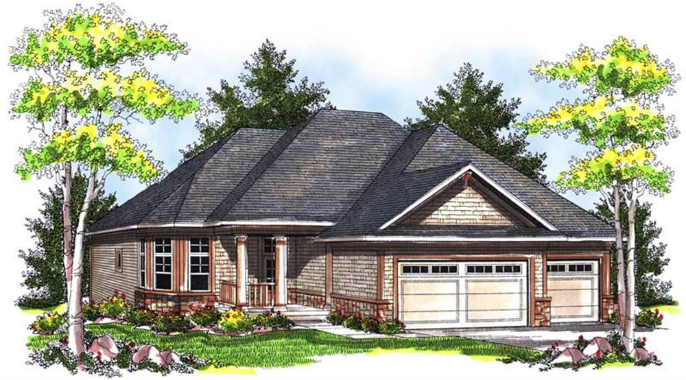 Main image for house plan # 14012