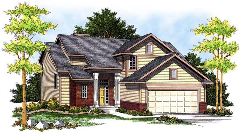 Main image for house plan # 13681