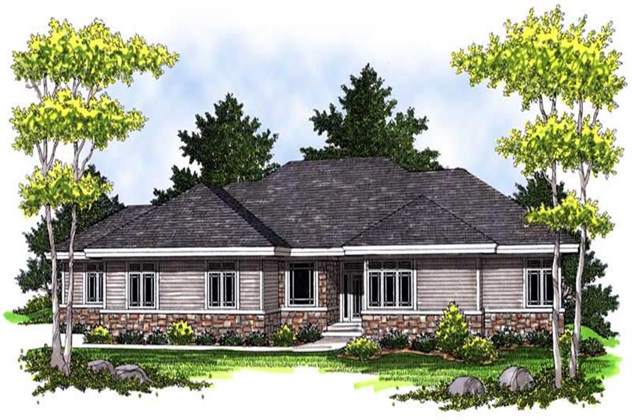 Main image for house plan # 14043