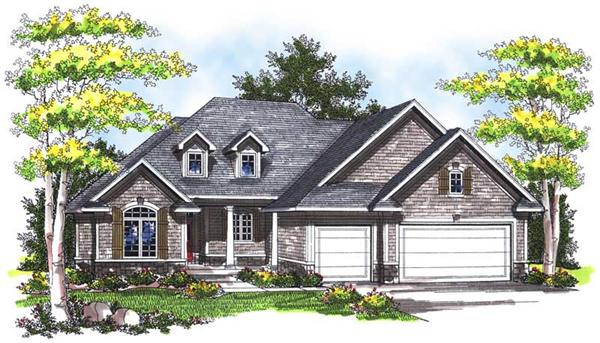 Main image for house plan # 14015