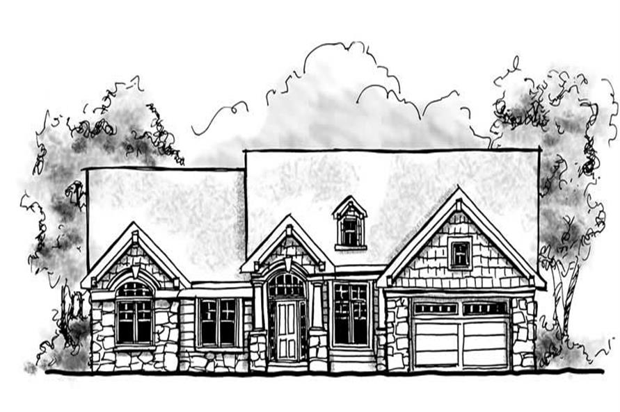 Main image for house plan # 13930