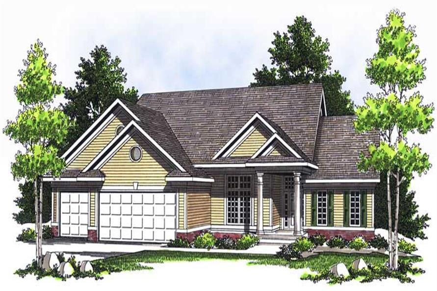 Main image for house plan # 13703