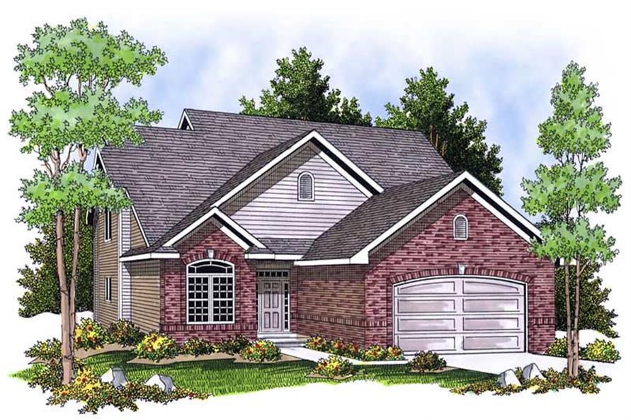 Main image for house plan # 13922