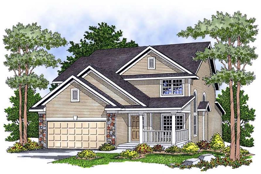 Main image for house plan # 13803