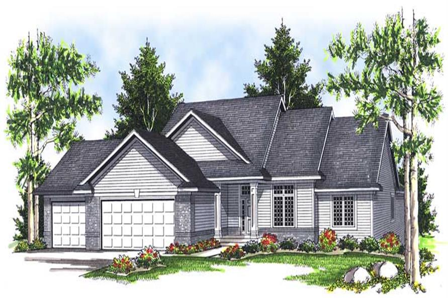 Main image for house plan # 13936