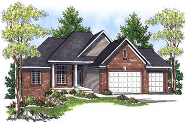 Main image for house plan # 13937