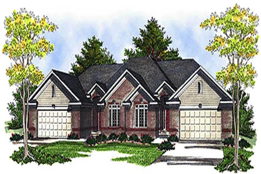Main image for house plan # 17228