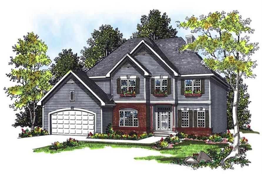 Main image for house plan # 13408