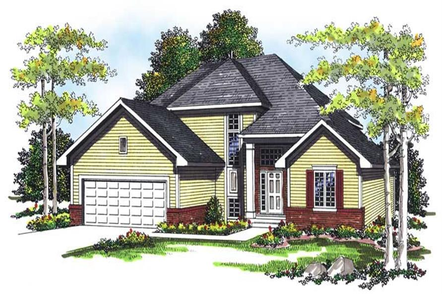 Main image for house plan # 13410