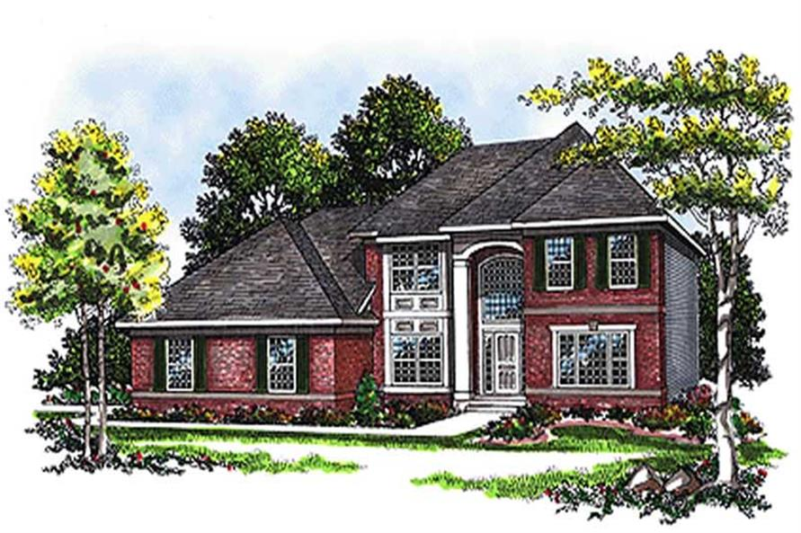 Main image for house plan # 17067