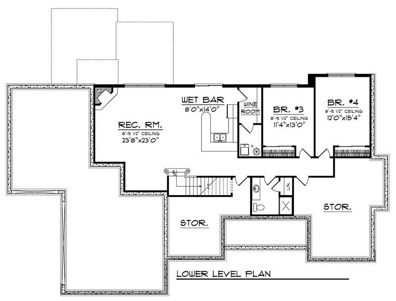 house plan 101 1741 4 bedroom 3609 sq ft colonial