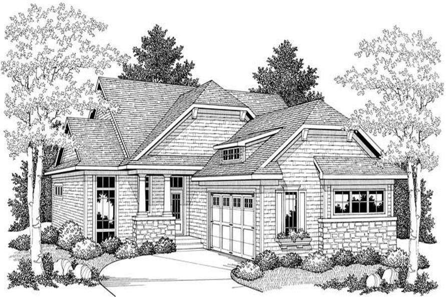 House Plan #101-1747