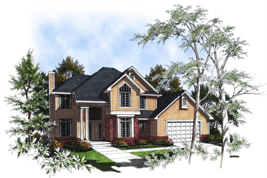 Main image for house plan # 13351