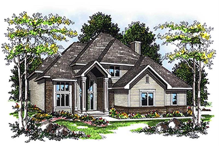 4-Bedroom, 2458 Sq Ft Craftsman Home Plan - 101-1757 - Main Exterior